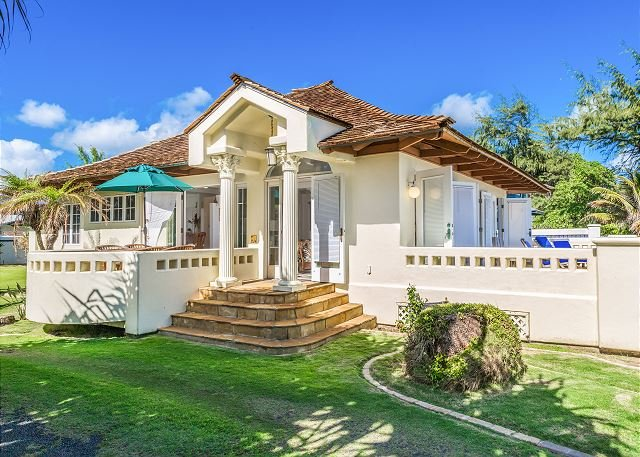 """""""HEAVENLY BEACH HOME"""", ENJOY OCEANFRONT LIVING, SPRING STAY SPECIALS! - Image 1 - Kapaa - rentals"""
