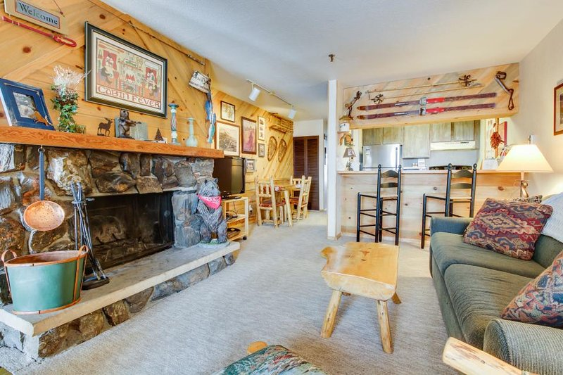 Ski-in/ski-out condo at the base of the Silver Queen lift - shared hot tub! - Image 1 - Crested Butte - rentals