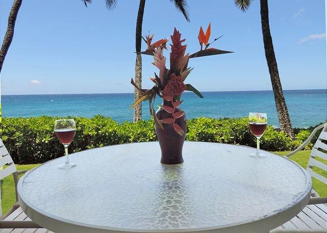 Lanai View - One of Kauai's most amazing oceanfront condo, Poipu Shores 103A, 2bd/2ba - Koloa - rentals