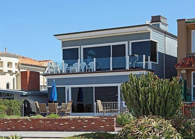 1023 E Balboa - Ocean Front Upper Unit, Amazing View of Balboa Pier, Private Balcony (68300) - Balboa - rentals