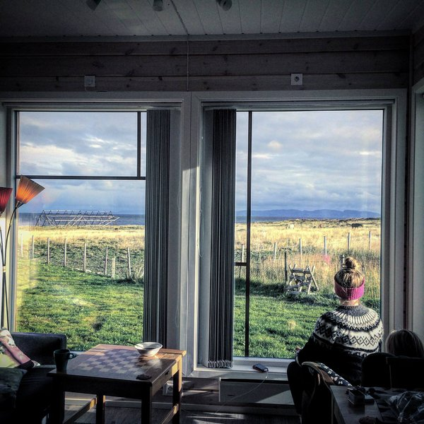 The view is fantastic from our Bird View Apartments. - Ekkerøy Holiday House in Varanger - North Norway - Finnmark - rentals
