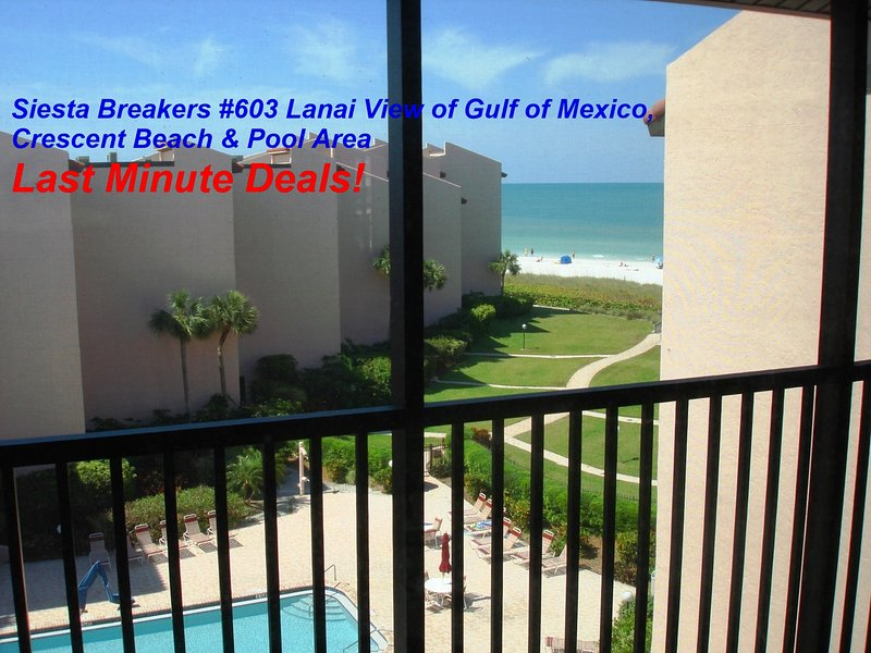Sun, Sand & *Save 20% to 35%* Siesta Breakers #603 - Image 1 - Sarasota - rentals