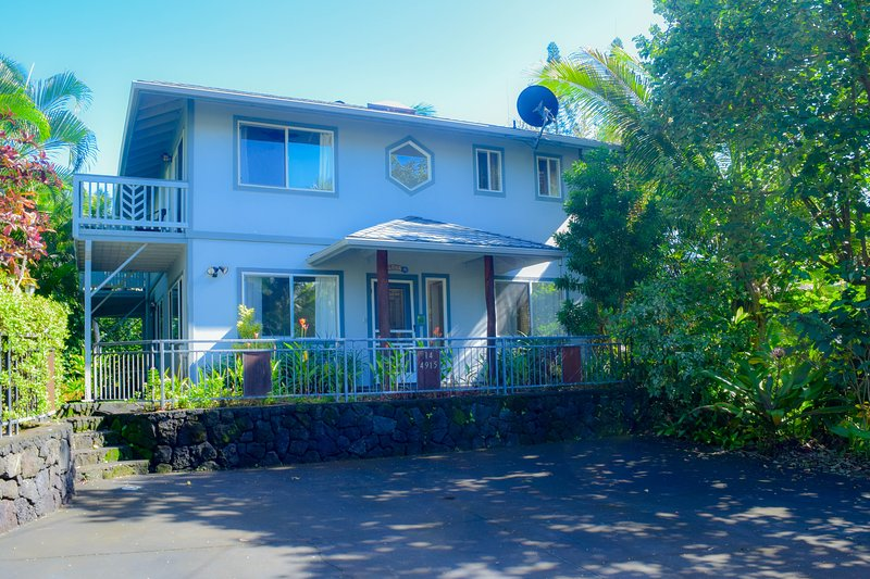 Orchid Elua is a 4B 4BA home in sunny Kapoho, a 5 min walk from the famous snorkeling tidepools - Orchid Elua - Kapoho - rentals