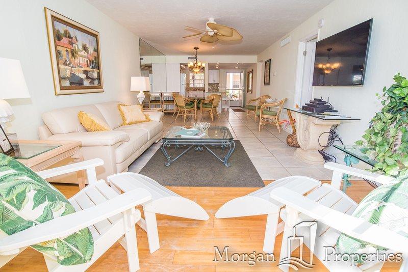 Morgan Properties - Palm Bay Club 151 - New Kitchen and Granite - 2Bed / 2 Bath - Image 1 - Siesta Key - rentals