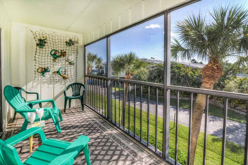 Balcony - Gulf Watch 111 - Bradenton Beach - rentals