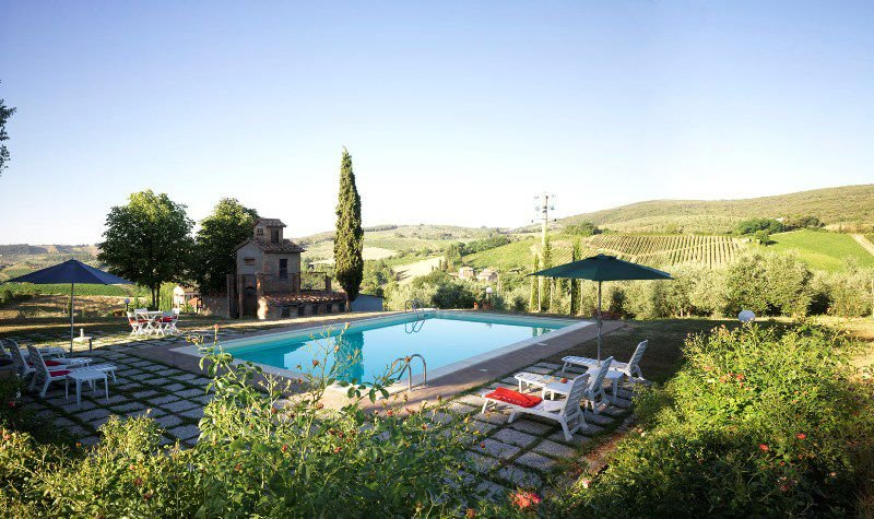 Hilltop Country Villa with 4 Bedrooms in Tuscany - Image 1 - San Gimignano - rentals