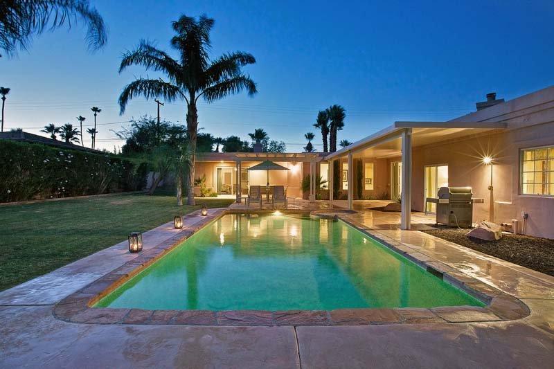 Private Backyard with Pool & Spa - Villa Altamira - Palm Springs - rentals