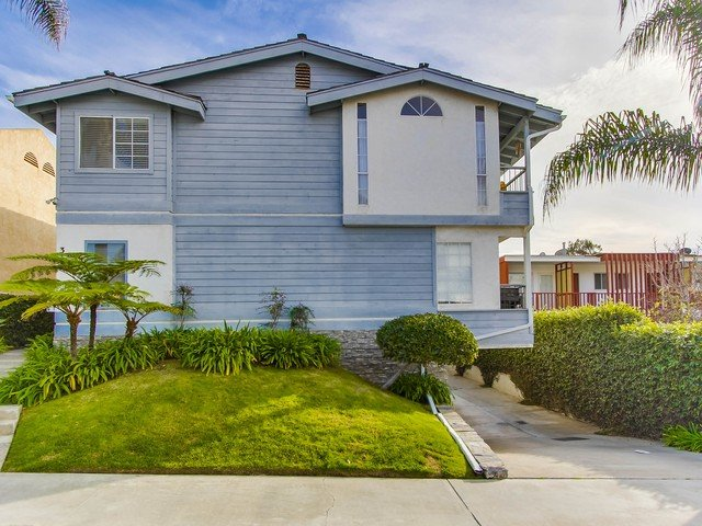 Tiki Townhouse, Ocean Views, Walk to Beach - Image 1 - La Jolla - rentals