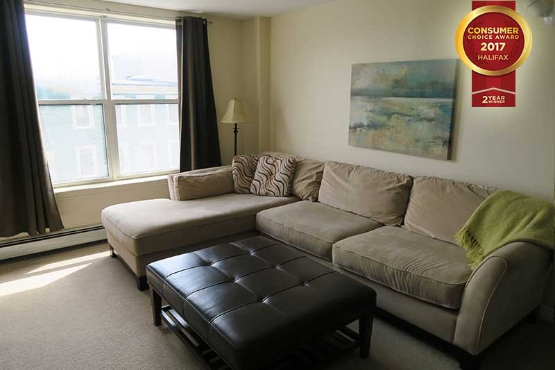 Living Area - Modern Suite in  Downtown Core - Halifax - rentals