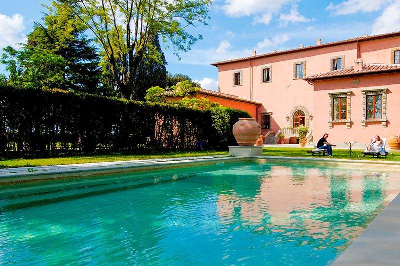 Villa Machiavelli, Sleeps 20 - Image 1 - San Casciano in Val di Pesa - rentals
