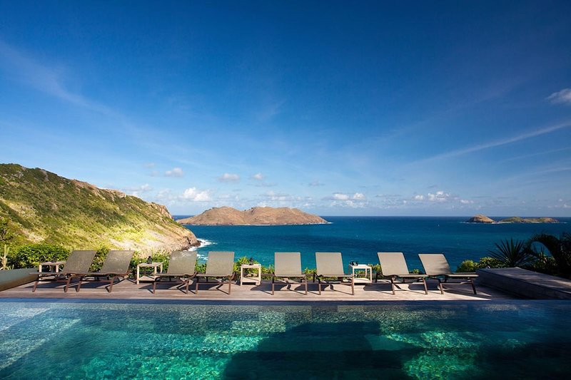 Luxury 7 bedroom St. Barts villa. Fabulous view! - Image 1 - Anse Des Cayes - rentals