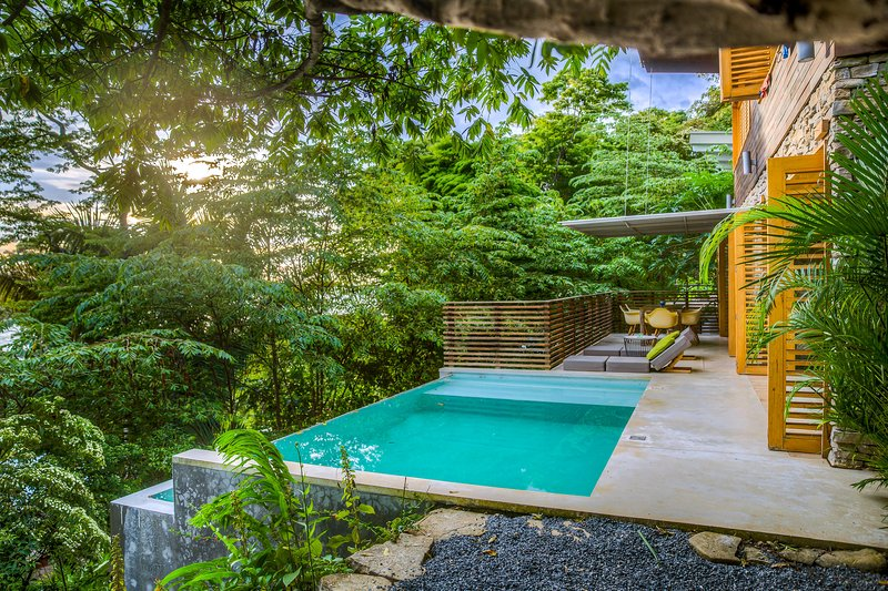 Terrace of villa Nicholson - Villa 'Nicholson' with breathtaking ocean view - Santa Teresa - rentals