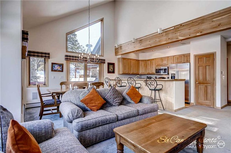 Pines at Four O'clock 97 by Ski Country Resorts - Image 1 - Breckenridge - rentals