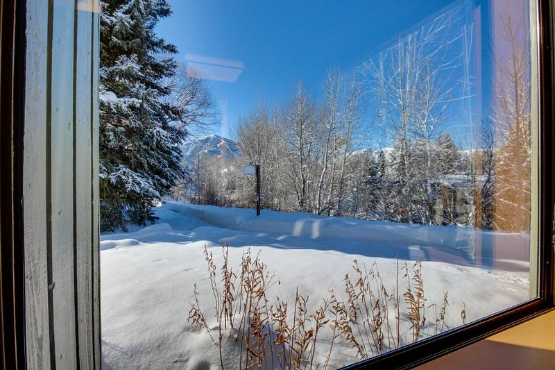 Mountain townhome for six with large deck, shared pool & hot tub - Image 1 - Sun Valley - rentals