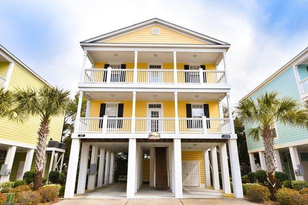Angler Villas 4 - Changes in Attitude - Image 1 - Garden City Beach - rentals