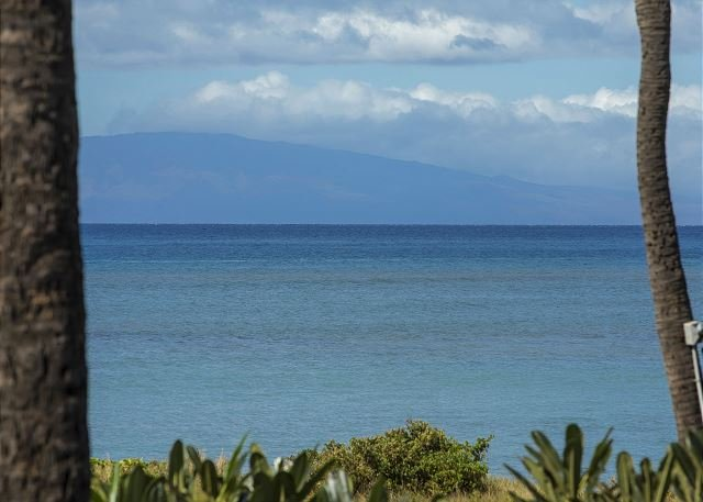 Ocean View From Unit #225 - Waiohuli Beach Hale D-225 Ocean View, Renovated Oct '16 Sleeps 4 Great Rates! - Kihei - rentals