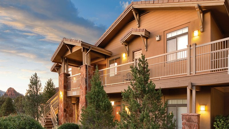 Our 2-bedroom, 2-bathroom condo is nestled amongst the sweeping beauty of Red Rock Country  - Red Rock Sunsets – Wyndham Sedona 2-Bedroom Condo - Sedona - rentals