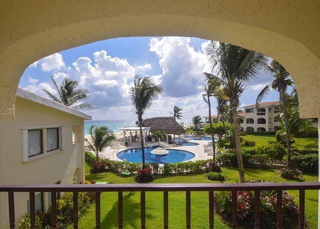 Oceanfront with pool 3 bedroom in Xaman Ha (XH7122) - Image 1 - Playa del Carmen - rentals