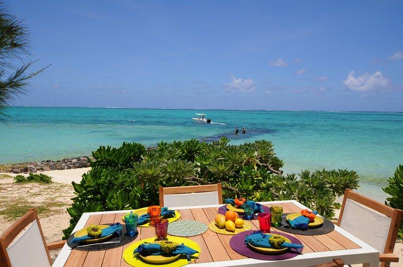 Villa La Piroga, beachfront, new and modern - Image 1 - Pointe d'Esny - rentals
