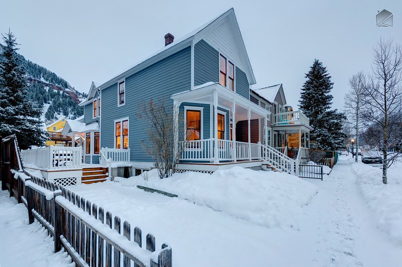Amazing 4 Bedroom Home in Telluride's Historic District - The Historic Thompson House - Image 1 - Telluride - rentals