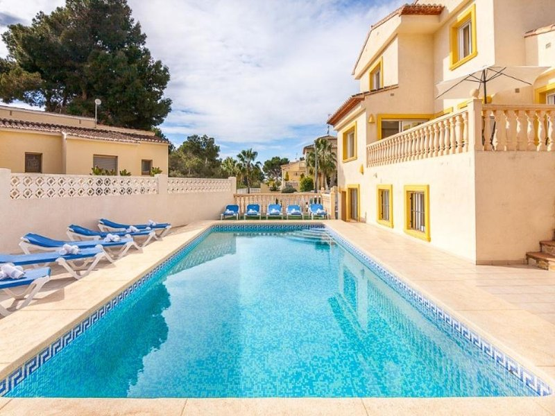 8 bedroom Villa in Calpe, Alicante, Costa Blanca, Spain : ref 2239929 - Image 1 - La Llobella - rentals