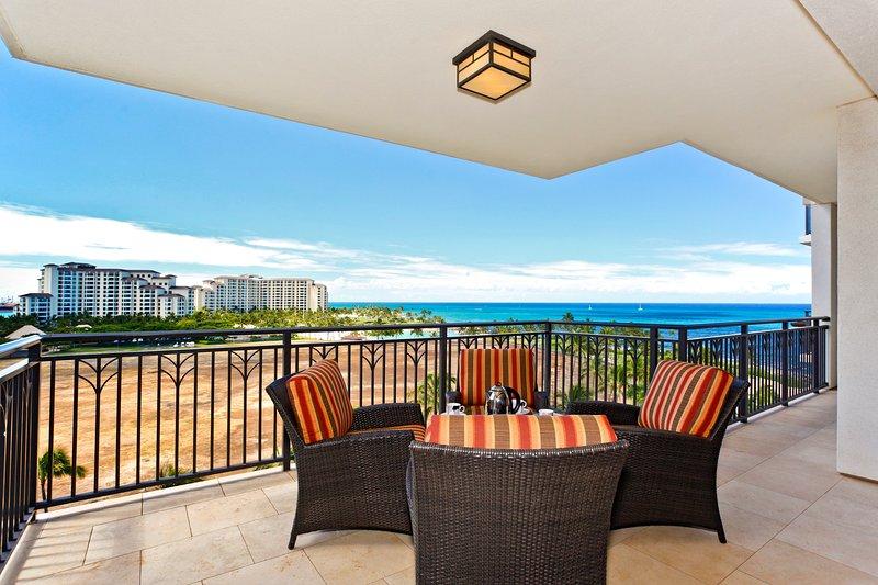 Spacious Lanai with Ocean View - Beach Villas BT-805 - Kapolei - rentals