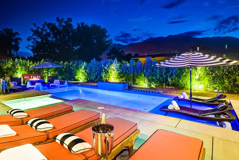Brand New Pristine Luxury w/All Private Baths - Image 1 - Palm Springs - rentals