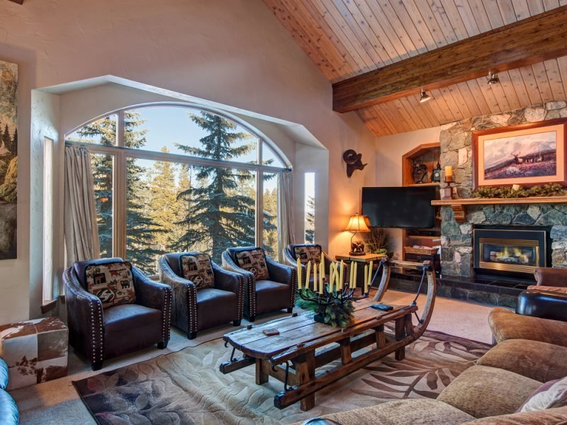 Ski-In Ski-Out 6-Bedroom 6.5-Bath Luxury House with Four Master Suites & Winter - Image 1 - Breckenridge - rentals
