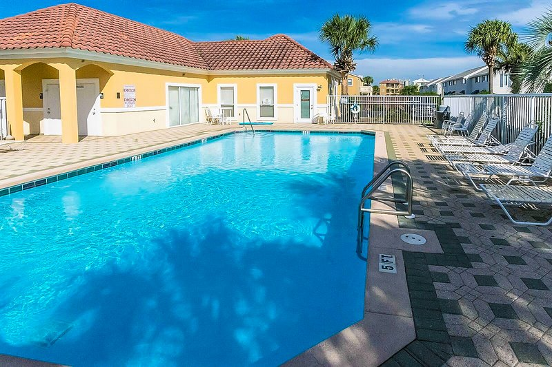 Ciboney Offers A Beautiful Pool Area Right In Front Of the Tennis Courts.  - Ciboney 2014 - Destin - rentals