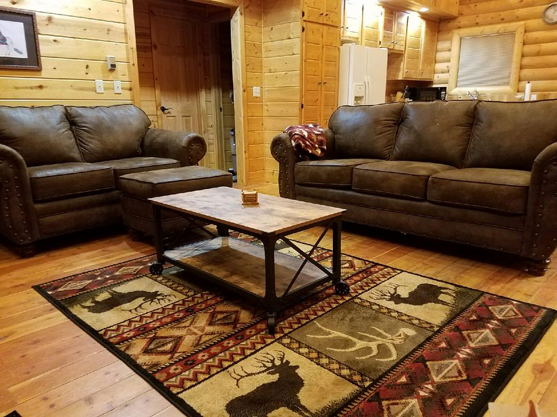 New Aspen Furniture (sofa sleeper) - *3/12-3/17 OPEN* 375/nt*Log Cabin*Close to Slopes* - Angel Fire - rentals
