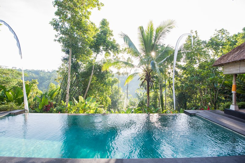 Secluded Escape for a Couple with Spectacular Panoramic Views - Image 1 - Ubud - rentals