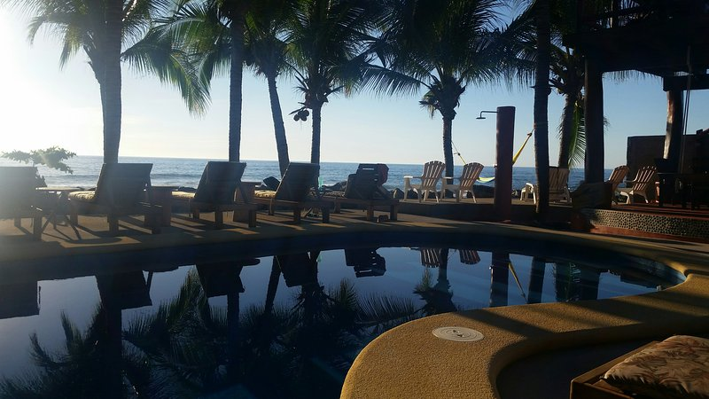 Secluded Oceanfront Tropical Inn - Image 1 - Troncones - rentals