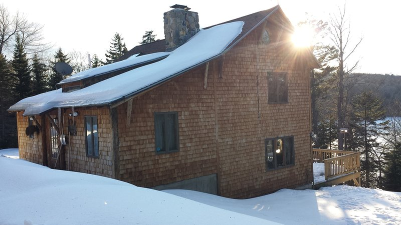 Welcome to Serenity on Wilson Pond - Winter Edition - Serenity on Wilson Pond - Greenville - rentals