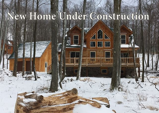 New Home Under Construction - Brand New Log Home Near 2 Golf Courses - McHenry - rentals