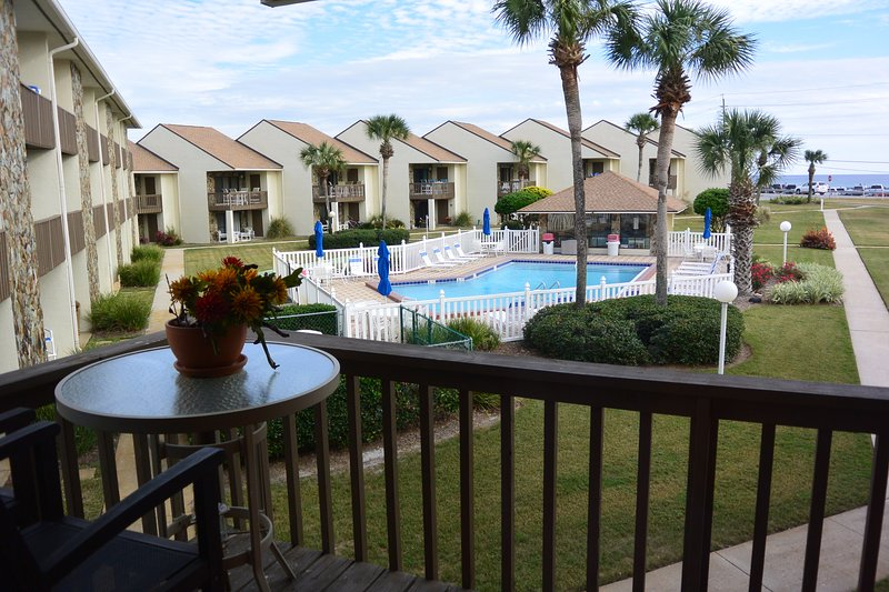 This Unit Has a Top Floor Balcony and A Bottom Floor Porch to Enjoy The Sunsets.  - Blue Surf 20 - Miramar Beach - rentals