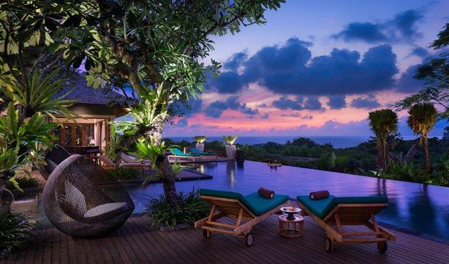 Clifftop Ocean View 7 BR Villa, Nusa Dua - Image 1 - Nusa Dua - rentals