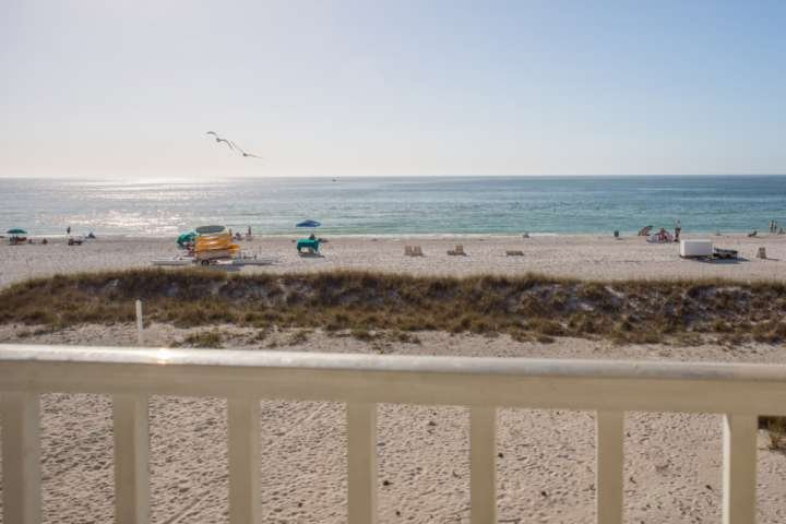 Two Private Beachfront Balconies - 303 Suite - Island Inn - Treasure Island - rentals