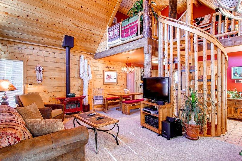 3 BR/2.5 BA, unique private log cabin home for 8, private hot tub, pets friendly - Image 1 - Dillon - rentals