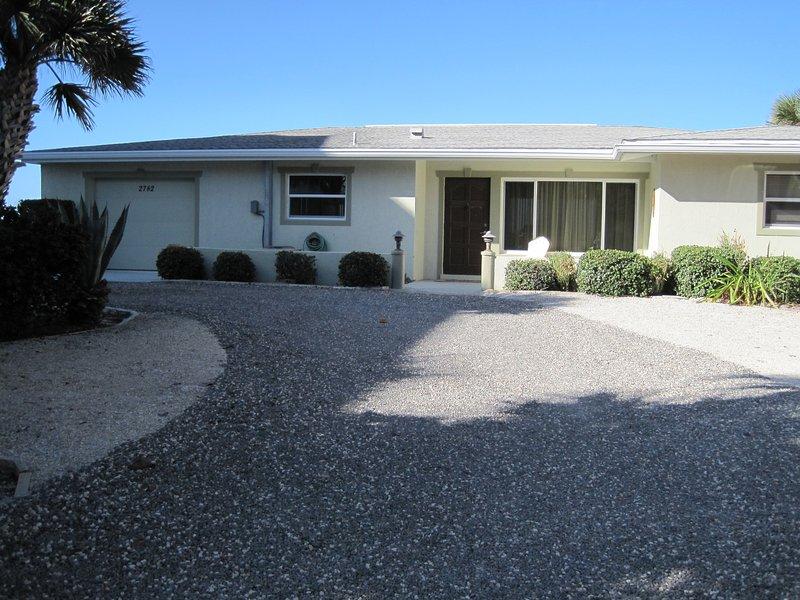 DIRECT BEACH FRONT HOME on MANASOTA KEY - Image 1 - Manasota Key - rentals