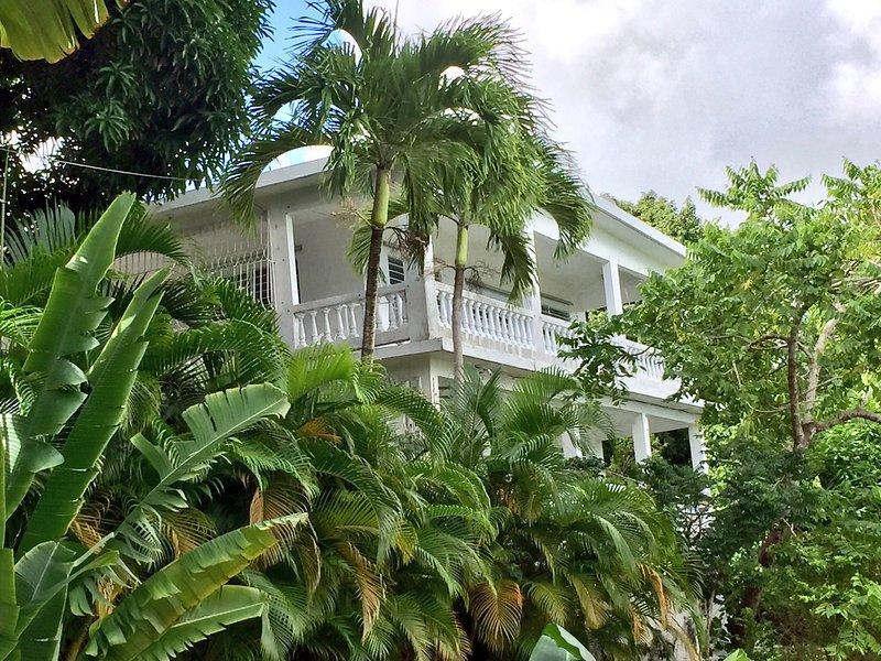 Exterior View of house - Casa Dos Chivos - 1 or 3 BR House w/Ocean Views! - Isla de Vieques - rentals