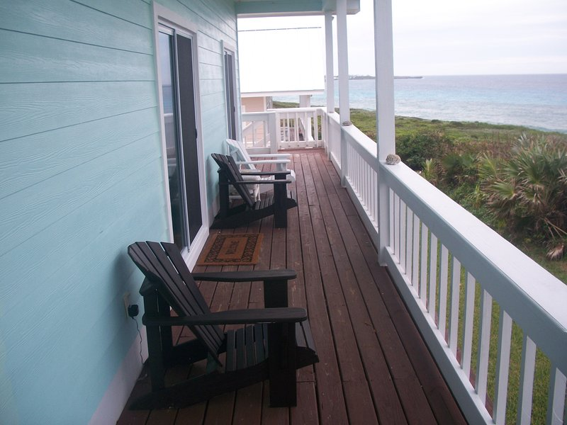listen to the crashing waves  - Cozy Oceanfront Villa#1, Come and Relax - Abaco - rentals