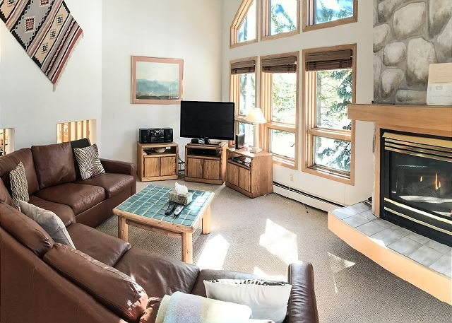 Ledges Townhomes #D - 3 bedroom home is East Vail - Image 1 - Vail - rentals