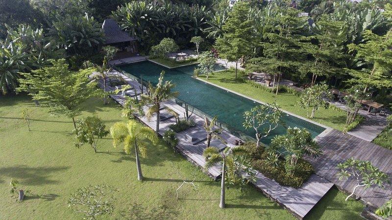 Serenity River Estate Villa, 9 bedrooms, feaute pool and gardens, chef, Canggu - Image 1 - Kerobokan - rentals