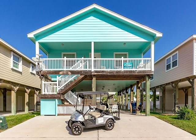 Welcome to Lost Shaker of Salt - Lost Shaker of Salt: Community Pool, *Free Golf Cart, Close to Beach, Pets - Port Aransas - rentals