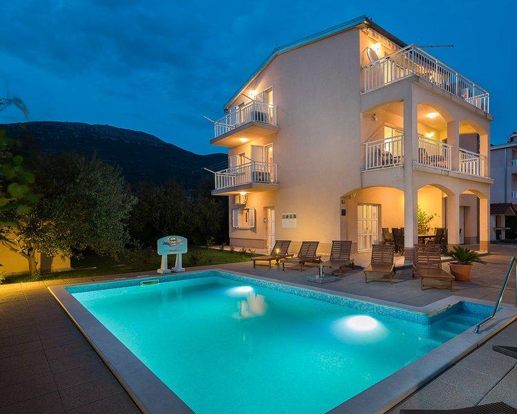Villa Lucija with swimming pool near Trogir - Image 1 - Trogir - rentals