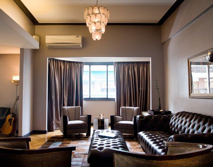 Buenos Aires - El Quinto Cielo - Living room - Stunning 6 Bedroom Apartment in Palermo Nuevo - Buenos Aires - rentals