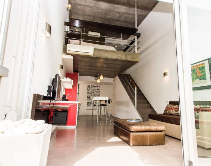 Buenos Aires - El Urbano - Living room - Ultra Modern 1 Bedroom Apartment Nestled in Palermo Hollywood - Buenos Aires - rentals