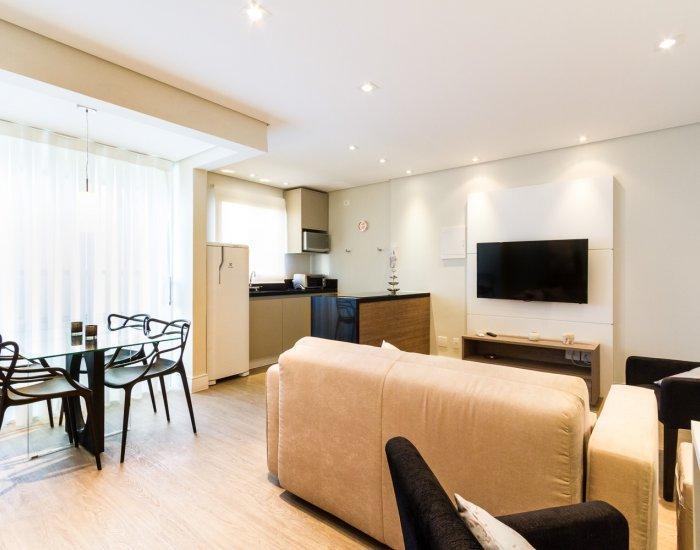 Cozy 1 Bedroom Apartment in Vila Nova - Image 1 - Sao Paulo - rentals