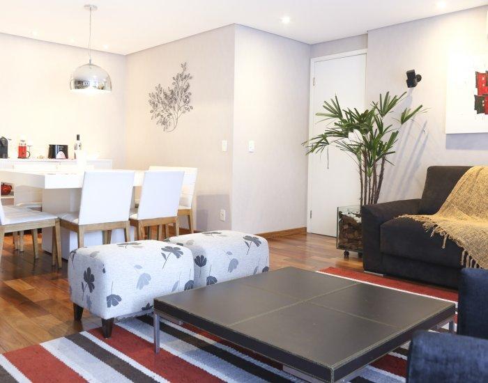 Colorful & Spacious 3 Bedroom Apartment in Brooklin - Image 1 - Sao Paulo - rentals
