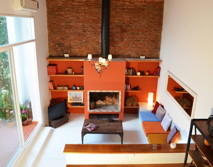 Buenos Aires - Arevalo & Honduras - Living room - Modern 2 Bedroom Loft in Palermo Hollywood - Buenos Aires - rentals